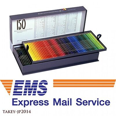 EMS Shipping HOLBEIN WORKS OP945 Colored Pencils 150 Colors Set Japan Tracking