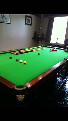 SNOOKER TABLE  (rare 3/4 size)
