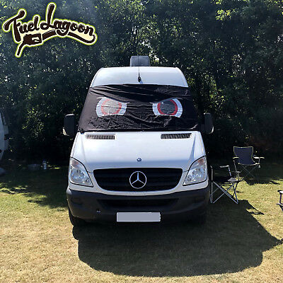 Mercedes Sprinter Van Window Screen Cover Black Out Motor Home Camper Motocross