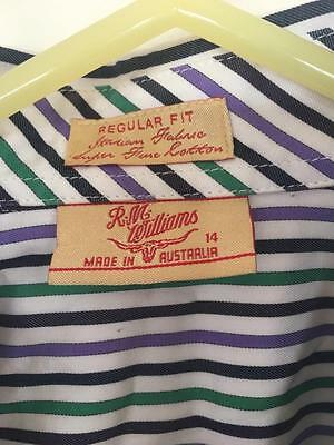 Rm Williams Ladies Shirt Previously Worn  Excellent Condition Size 14