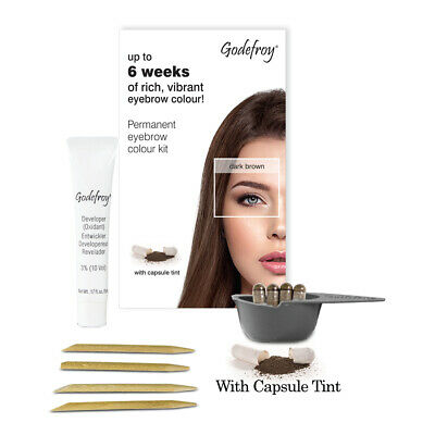 Godefroy Instant Eyebrow Tint - up to 6 weeks of rich, vibrant eyebrow colour