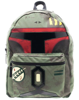 Star Wars BOBA FETT w Blueprint Reversible BACKPACK