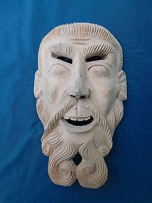 Vintage Mexican Bearded God Mask