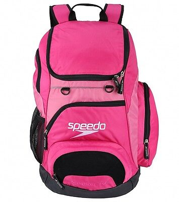 Speedo T-Kit Teamster 35L Backpack Pink Rucksack Swimming Kit Bag