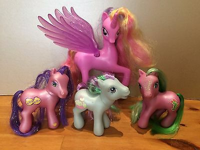 My Little Pony Singing Talking Light Up Princess Cadencean 3 x g3 bundle