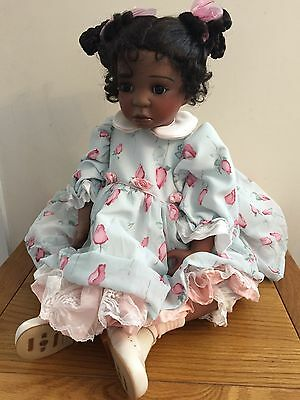 Maisie - Porcelain Doll by Celia Dolls, Limited Edition