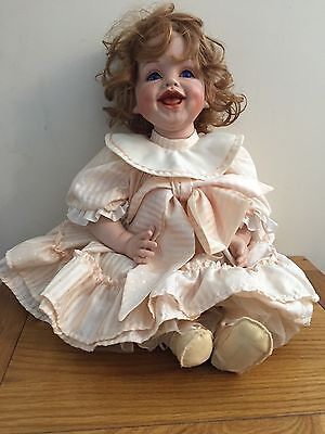 Daisy - Porcelain Doll by Celia Dolls, Limited Edition