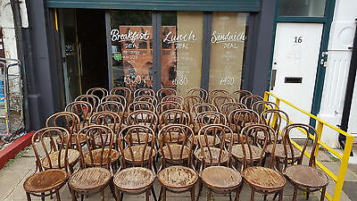 35 Bentwood Bistro Chairs