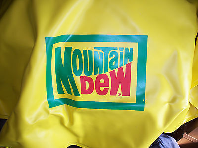 Mountain Dew inflatable tube, vintage NOS RARE!