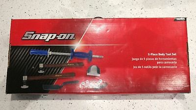 Snap on 5 Piece Body Tool Set Panel Beaters Kit Hammers, Dollies & Spoon 2005BFA