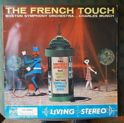 "Sb-2041 Rca ""living Stereo"" - Charles Munch - The French Touch - Listen"