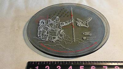 NASA & ROCKWELL Manned Flight Awareness Plate 1988 Honoree Event Houston, Texas