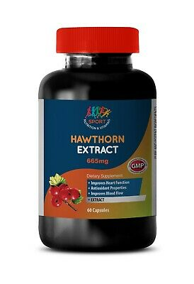 Hawthorn Berry Extract (1 Bottle, 120 Capsules)