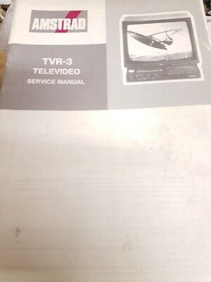 amstrad tvr-3 televideo service manual