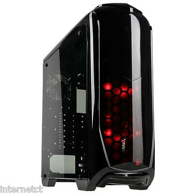 Kolink Aviator V Midi Tower Gaming Case With Full Acrylic Side Window Panel