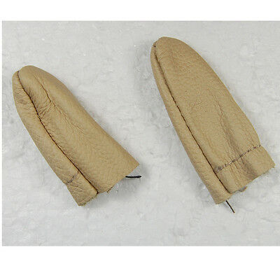 2x Needle Felting Leather Gloves Finger Protector Protection Tools fr Hand Craft