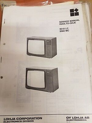 finlux 9510 and 9560 service manual