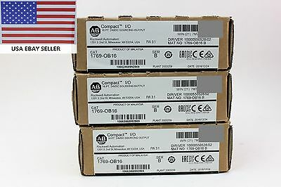 *Ships Today* Allen Bradley 1769-OB16 DC Output Card New
