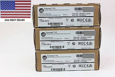 *Ships Today* Allen Bradley 1769-OF4 Ser A Analog Output sealed 2017 & 2016