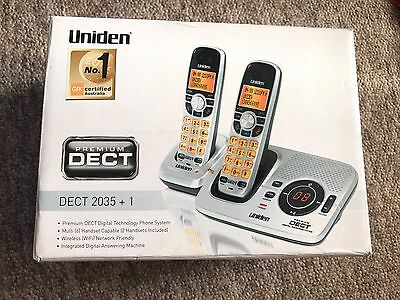 Uniden 2035+1 Cordless Phones And Answer machine