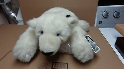 Denver Zoo 20 Inch Long Snow The Polar Bear Stuff Animal New With Tags