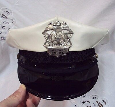 OBSOLETE Vtg HEAD-MASTER HAT State of Pennsylvania Uniform AUXILIARY POLICE