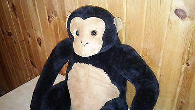 "Melissa and Doug Large 26"" chimpanzee Plush monkey ape Stuffed Animal A25"