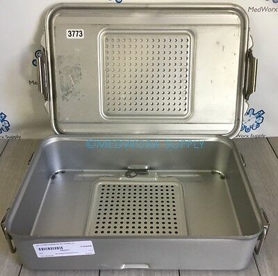 Genesis Sterilization Steam/Autoclavable Empty Tray 3773