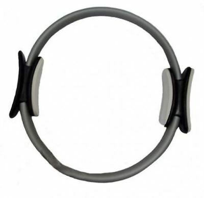 Yoga Direct Pilates Toning Ring with Stabilizing Grips, Gray