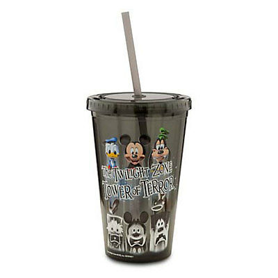 Disney Parks Tumbler w/ Straw Cup The Twilight Zone Tower of Terror