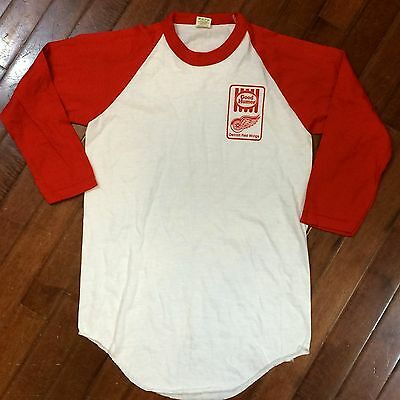 Detroit Red Wings Good Humor Ice Cream Arena Promo Vintage 80s Childs L T-Shirt