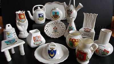 Small Collection Of Crested China