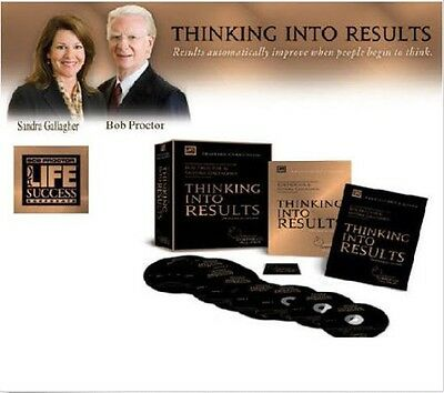 Thinking Into Results - Bob Proctor's PGI PROGRAM-- BEST OFFER ENCOURAGED!!!