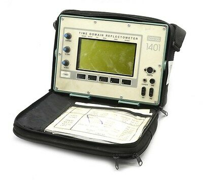 Canoga 1401 Time-Domain Reflectometer 1401-S, Used, No Charger or Cables