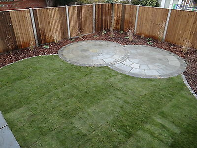 Sandstone Paving Circle 3m KANDLA GREY