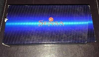 Rare Sensa Zephyr Tangerine Ball Pen New Old Stock
