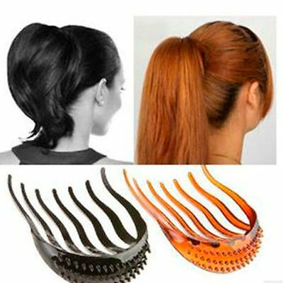 Hot Sale Tips Bumpits Bouffant Ponytail Hair Clip Volume Inserts Comb