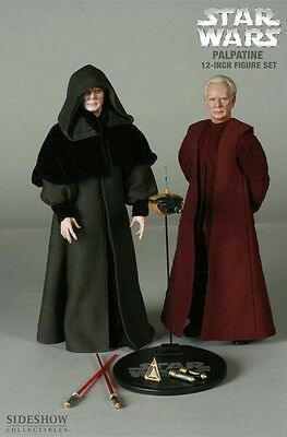 Sideshow - STAR WARS - EMPEROR PALPATINE & DARTH SIDIOUS- 1:6 Scale figure  -