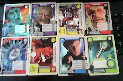 Doctor Who Monster Invasion 1 Ultra Rare Card & 7 Rare Cards & 59 Common Cards