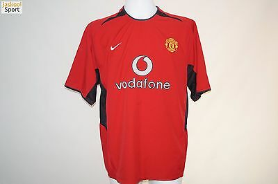 Manchester United 2002 - 2004 Home Nike Football shirt SIZE XL