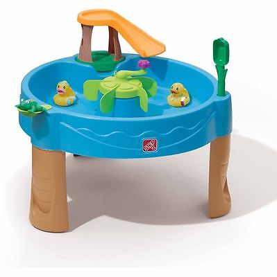 Step2 Duck Pond Water Table Outdoor Kids Play Toy Splash Fun Frog Children