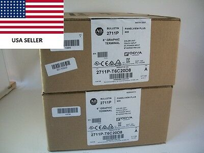 *Ships Today* Sealed Allen Bradley 2711P-T6C20D8  Panelview Plus *2017*