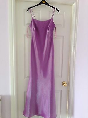 Debut Size 8 Ladies Lilac Long Beaded Cruise, Prom, Party, Cocktail Dress