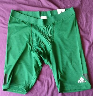 Brand New Adidas Techfit cool 9inch Adult Baselayer compression Shorts