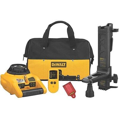 DW074KD 600-ft Self-Leveling Interior/Exterior Rotary Laser Kit ConstructionNEW