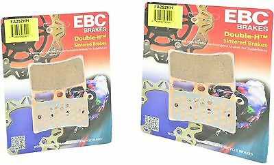Sintered Double-H Brake Pads Front Set EBC SC-KT-EBC-FT0368 Select Yamaha Models
