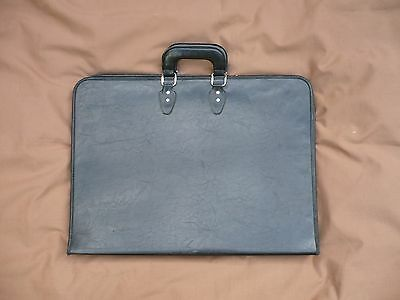 Leather-look Portfolio case for art and documents