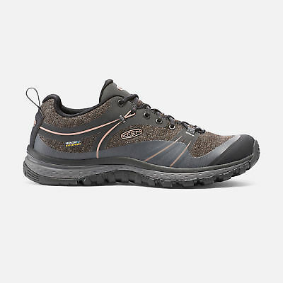 Keen Terradora WP, Women's Waterproof Trail-running Shoe, Raven/Rose Dawn, 7.5