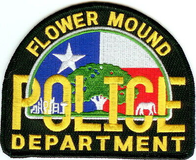 Flower Mound Police Dept. Police Patch Texas TX NEW