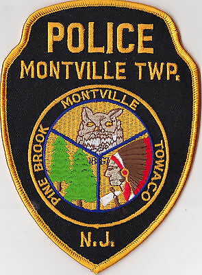 Montville TWP Police Patch New Jersey NEW !!!